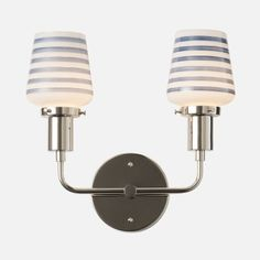 """Abrams Double 2.25"""" Sconce 
