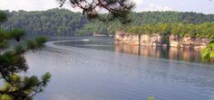 WV Cabins' Photos of Whitewater, Summersville Lake, WV Scenery