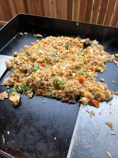 Chicken Fried Rice on the Blackstone – Griffin' s Grub