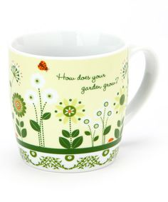 Take a look at this Green Garden Mug & Gift Box by Design Imports on #zulily today!