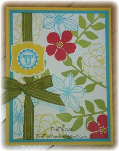 Daffodil Delight, Lucky Limeade, Real Red, Tempting Turquoise;