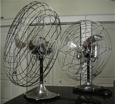 Fresh'nd-Aire electrical antique fan 1940's