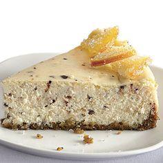 Chocolate-Orange Cannoli Cheesecake - FineCooking