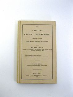 the American Frugal Housewife  Original by VintageCommon on Etsy