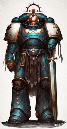 Salamanders Space Marines, Character Art, Character Design, Marine Colors, Grey Knights, Warhammer 40k Art, Angel Of Death, Old World, Fantasy Art