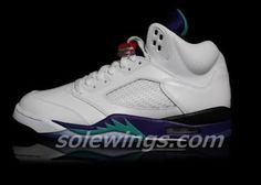 promo code d8f9b 820f2 2013 Air Jordan Grape 5 Sneaker (Images + Release Info) High Top Sneakers,