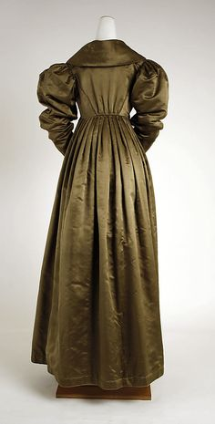 Pelisse Date: 1814–20 Culture: American Medium: silk Accession Number: C.I.54.19