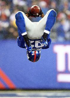 David Wilson of the New York Giants #NFL