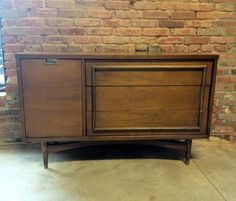 Mid-century, Don Draper-style credenza from Barefoot Dwelling @Etsy