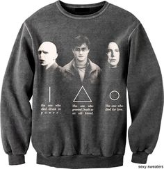 Deathly Hallows sweater.