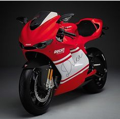 Just in case you have been living under a rock, or been the victim of a massive coma, Ducati is set to debut a new superbike with a engine. The news is a pretty big deal in Ducati circles – the Italian brand finally abandoning the v-twin format for … Ducati Cafe Racer, Ducati Motos, Ducati Superbike, Ducati 998, Triumph Motorcycles, Cool Motorcycles, Moto Bike, Motorcycle Bike, Racing Bike