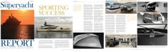 The Superyacht Report December 2012, 6 Page Spread