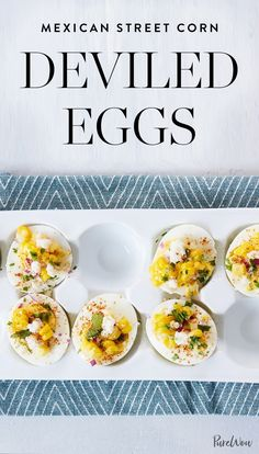 These Mexican street corn deviled eggs will be the talk of the evening, and best of all, you can whip them up in under an hour. Get the recipe here.