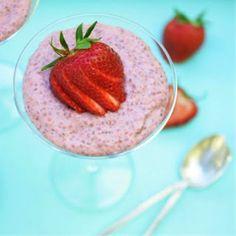 Image via taste.com.au Strawberry & Chia Pudding ......................................................................
