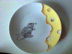 La souris et le gruyère