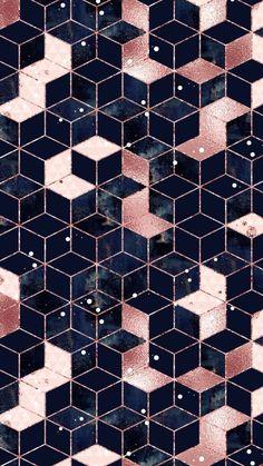 Phone Screen Wallpaper, Iphone Background Wallpaper, Cellphone Wallpaper, Iphone Wallpaper Geometric, Rose Gold Wallpaper, Luxury Wallpaper, Blue Wallpapers, Iphone 7 Wallpapers, Tumbler Backgrounds