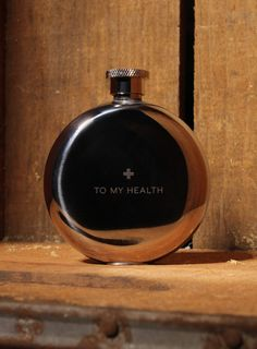 """To My Health"" Flask"