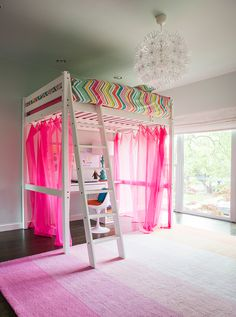 Crazy Cool Girls Room in Highland Park / Dallas, TX
