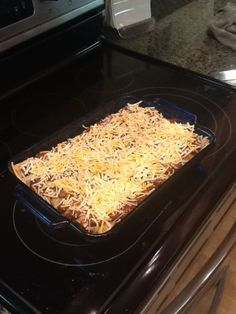 This pizza role chili cheese casserole is possibly the trashiest thing ever, but it DOES sound delicious!