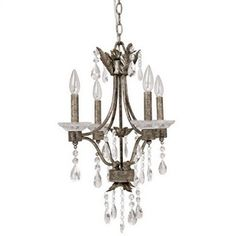 Buy the Capital Lighting Antiqued Silver Direct. Shop for the Capital Lighting Antiqued Silver 4 Light 1 Tier Mini Chandelier and save. Chandelier Chain, Chandelier Bedroom, Chandelier Lighting, Elegant Chandeliers, Small Chandeliers, Bath Light, Candelabra Bulbs, Outdoor Lighting, Antique Silver