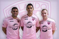 City Goes Pink 2013! Bid on your favorite Orlando City Player's PINK Jersey! Proceeds go to Women Playing for T.I. M.E.