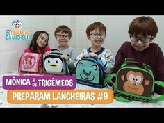 MÔNICA E TRIGÊMEOS PREPARAM LANCHEIRAS #9 | #LancheirasKids | Mônica e Os Trigêmeos da Michele - YouTube Family Guy, Youtube, Fictional Characters, Lunch Boxes, Youtubers