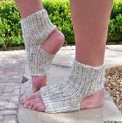 Yoga Socks - Knit Socks - via @Craftsy