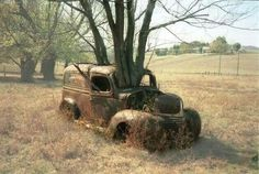 Very old truck