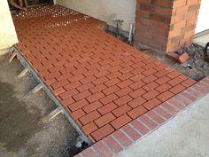 Superbe Brick Ramp Over Concrete