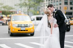 Bride's Dress & Bolero by Maggie Sottero for Kleinfeld & Custom Veil from Kleinfeld Bridal  ||  http://www.kleinfeldbridal.com/