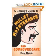 If you liked the moustache book, you'll love it's hairstyle companion. Probably. It was fun for me anyway.