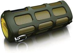 Amazon.com: Philips SB7220 Shoqbox Wireless Portable Speaker - Green 8W: MP3 Players & Accessories