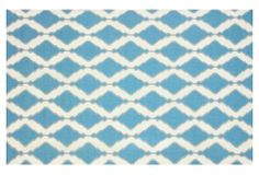 One Kings Lane - Spring Forward - Amwell Flat-Weave Rug, Teal