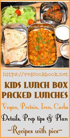 Kids School Lunch Box / Picnic Lunches / Packed Lunches for children!! #vegan #vegetarian #glutenfree #recipes #food #kidsfriendly #prepfood #mealplan #kidsmeals #vegcookbookbypraveena #kids #lunchbox #schoollunches #packedlunches #kidsrecipes #homemade #packed #food #healthy #prepTipc #foodIdeas #proteinrich #kids #children #tiffin #box #homestyle #instantpot #instantpotmealplan #instantpotcooking