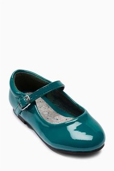Buy Teal Patent Mary Janes (Younger Girls) from the Next UK online shop