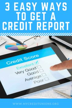 Find out how easy it is to get your Credit Report