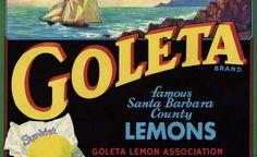 Printable Vintage California Lemons Crate Label - Click for larger print image