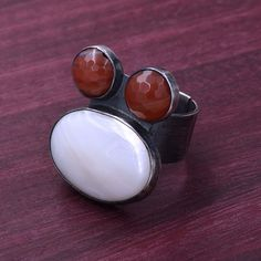 Clearancelarge 925 Vintage Patina Ring