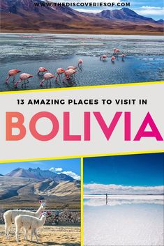Unmissable Bolivia Travel Hotspots - Bolivia Salt Flats I La Paz I Sucre I Copacabana I Lake Titicaca and more #bolivia #traveldestinations #bucketlist