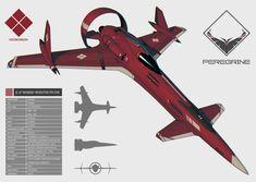 Peregrine Type Zero Interceptor by IgnusDei on DeviantArt Spaceship Art, Spaceship Design, Concept Ships, Concept Cars, Stargate, Starship Concept, Space Engineers, Airplane Art, Airplane Fighter