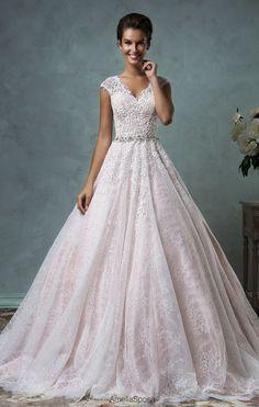 Featured Dress: Amelia Sposa; Wedding dress idea.