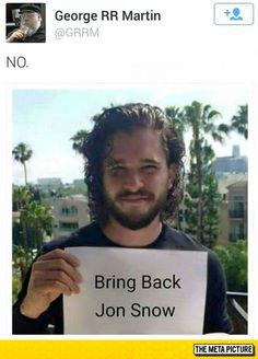 Please, George