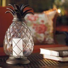 Pineapple Hurricane Lantern.