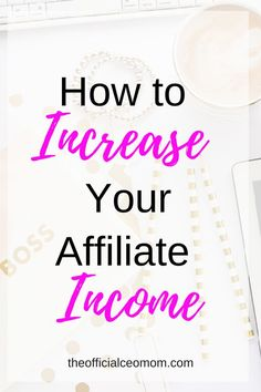Learn how to increase affiliate income on your blog or within your online business. Stop the guesswork. Try these actionable steps to increase your profits. -- Want additional info? Click on the image. #VideoMarketingTips