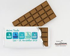Gastgeschenk Taufe Schokolade personalisiert | Etsy Sweet Table Decorations, Personalized Chocolate, Confirmation Gifts, Guest Gifts, Lettering, Cocoa Butter, Communion, Free Design, Eyeshadow