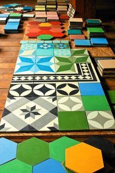 płytki patchwork w kuchni - Szukaj w Google