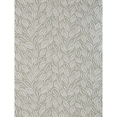 Buy MissPrint Leaves Wallpaper Online at johnlewis.com £60 Dove grey
