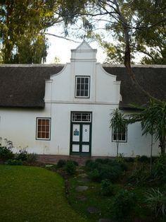 cape dutch architecture - Lake Houses, Tiny Houses, Dutch House, My House, Cape Colony, Cape Dutch, Peaceful Home, Garden Walls, Beach Homes