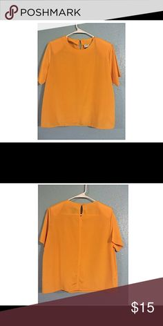 Vintage Jonathan Logan Petite Mustard Yellow Shirt Vintage. Used. Has shoulder padding Jonathan Logan Petite Tops Blouses