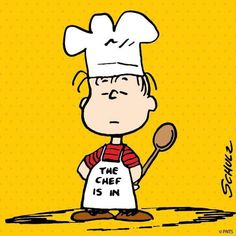 The Chef is in.